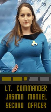 Lieutenant Commander Jasmin Manuel